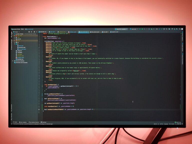 จอ Monitor Dell U2520D-เขียนโปรแกรม